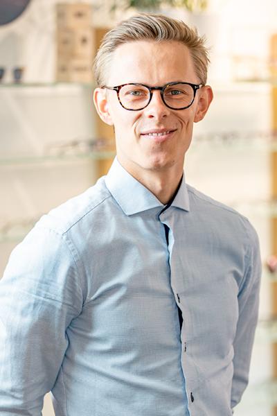 Skjold Optik Team Morten Frey Optometrist