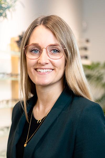 Skjold Optik Team Sofie Dalsgaard Administrativ
